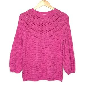 14th & Union•open knit pullover sweater